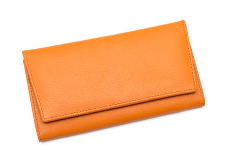 Womens wallet isolated on white background