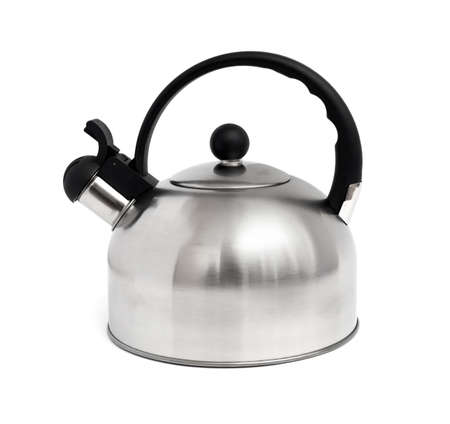 Tea kettle isolated on white background 版權商用圖片