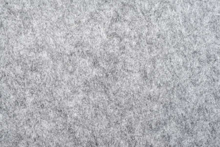 macro of grey felt texture for backgrounds 写真素材