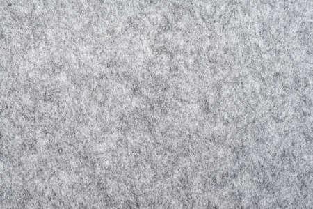 Makro von grauem Filz Textur für Hintergründe Standard-Bild