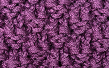 Lilac knitted wool texture can use as background Stock Photo