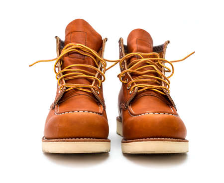 Work American boots Stock Photo