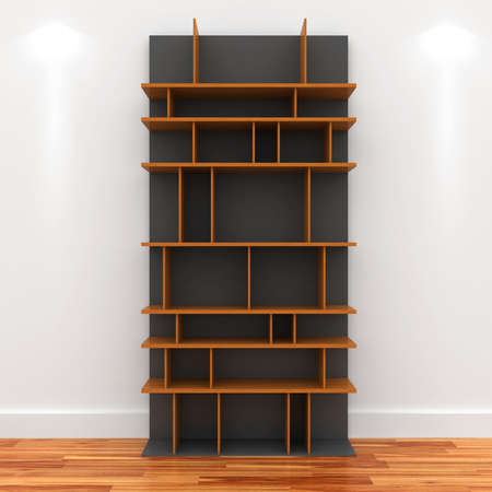 3d Empty shelves for exhibits Stock Photo - 9593925