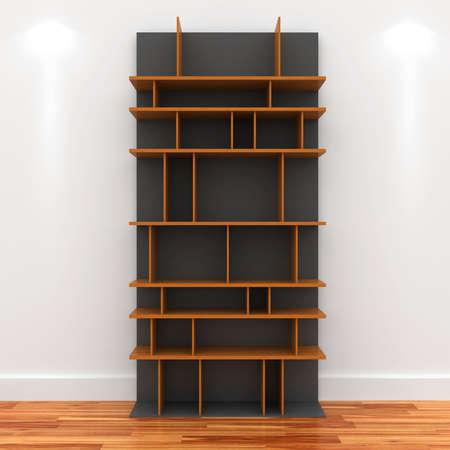 3d Empty shelves for exhibits Stock Photo - 9593925