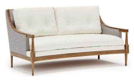 sofa modern modern sofa isolated on white background 3d illustration - Modern Sofa Kaufen