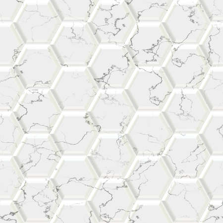 optimal: Marble hexagon seamless texture optimal use for background, floor, decorative stone and interior stone