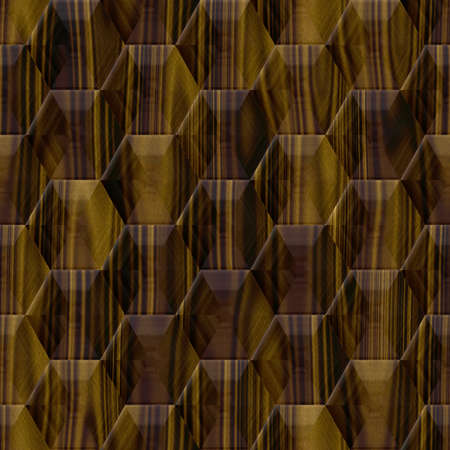 optimal: Wood decor hexagon seamless texture optimal use for background, floor