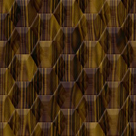 optimal: Wood decor hexagon seamless texture optimal use for background, floor