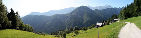 Alpes: mountains, slovenia, alpes Stock Photo