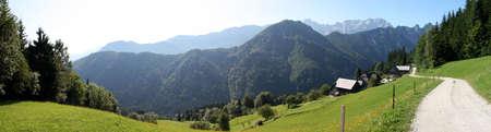 alpes: mountains, slovenia, alpes Stock Photo