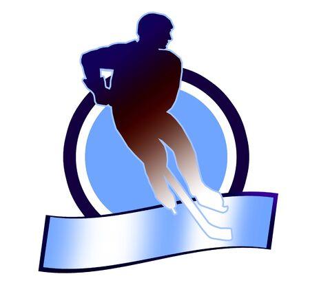 ice hockey player: Hockey sign2