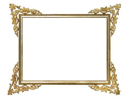 Alte antike Gold-Rahmen