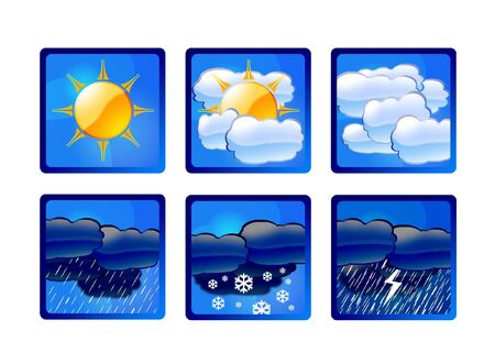 weather forecast illustrations