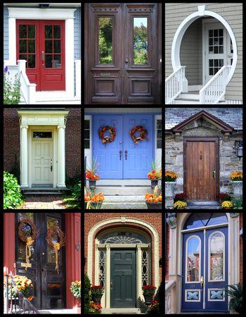 tocar la puerta: Nueva Inglaterra puertas