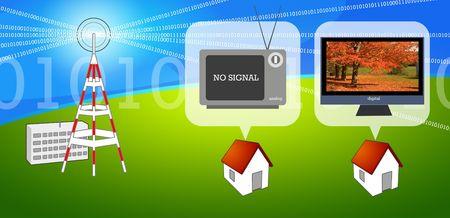 디지털 TV