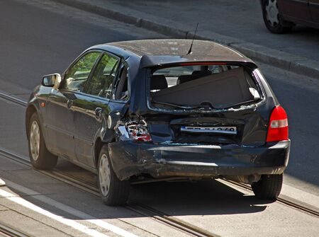 Car accident Stock Photo - 5055023