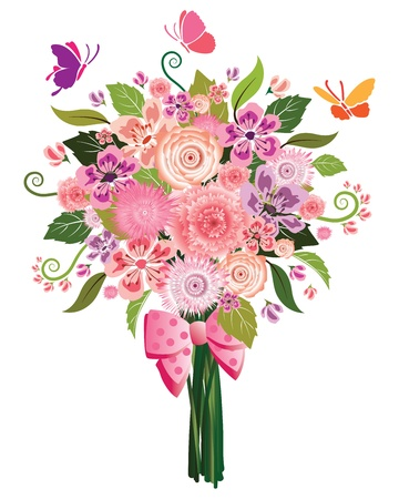 Flower Bouquet Stock Vector - 22638200