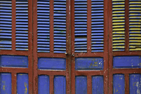 Colorful Door Abstract