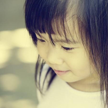 Close up Portrait of a Little Girl