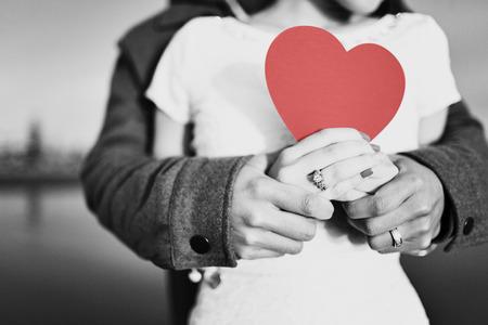 mujer enamorada: Amor Romántico Foto de archivo