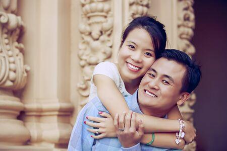 행복한 젊은 커플