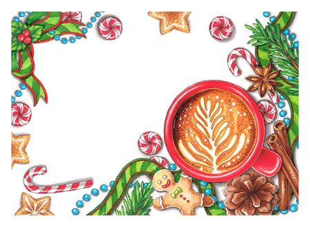 Hand-drawn Christmas Decorations
