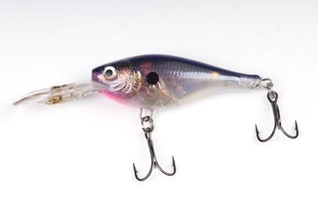 a bait for fishing - wobbler on white