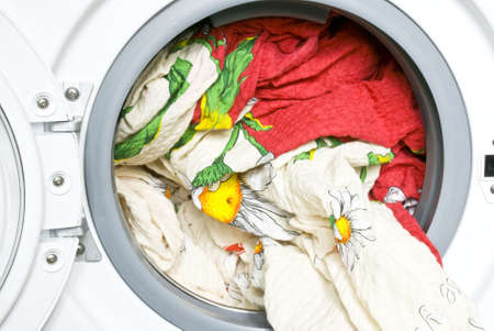 bedclothes: Color bed-clothes in the washing machine