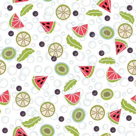 cocteles de frutas: infusión de agua de fruta fresca: limón, menta, pepino, naranja, fresa, frambuesa, kiwi, arándanos, sandía. sin patrón, con el agua de desintoxicación. ensaladas de fruta de fondo.