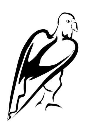 eagl tatoo Illustration