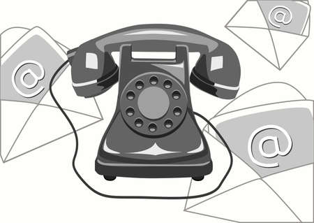call outs: Phone  icon  Illustration
