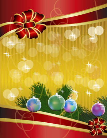 Merry christmas,placard, Stock Vector - 15423403