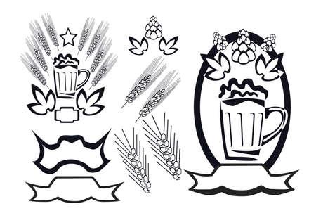 beer logotype Stock Vector - 15835665