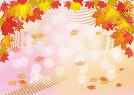 Autumn , postcard . Stock Vector - 16100180
