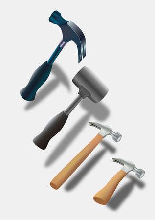 Hammers Stock Vector - 16946558