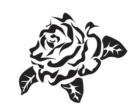 rose tattoo: Rose   icons  tattoo