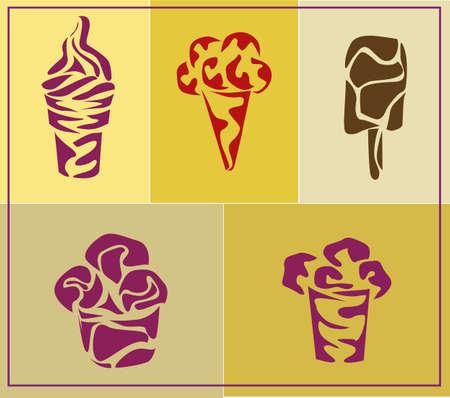 chock:   ice cream   icons