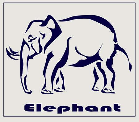 Elephant , icon ,tattoo