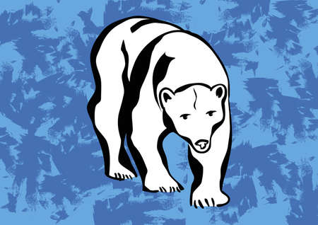 polar bear vector icons tattoo  Vector