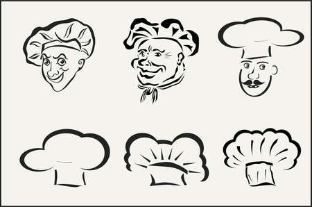 hubcaps: chefs and hubcaps icons
