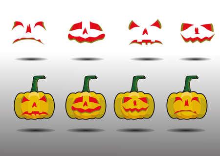 Halloween-holiday Vector