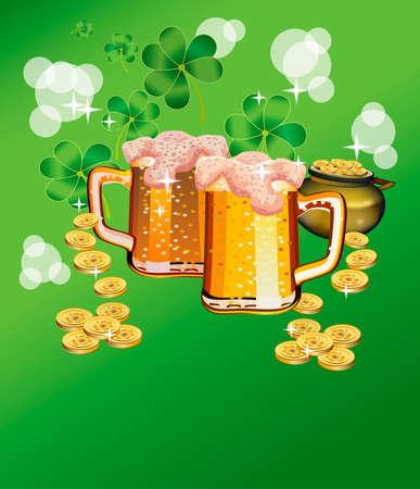 St. Patricks Day - greeting card
