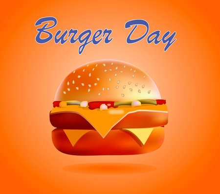Vector illustration, banner, burger, fries, cola, fast food is the most popular in the world of food 일러스트