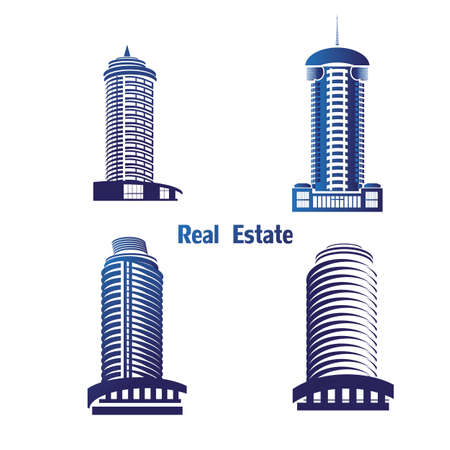 icons for real estate construction.