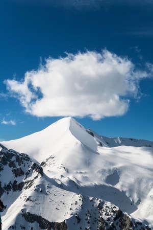 snowcapped: Snowcapped Mountain Peak