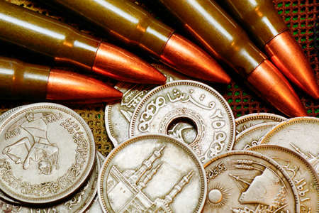 ammunition: Ammunition and money