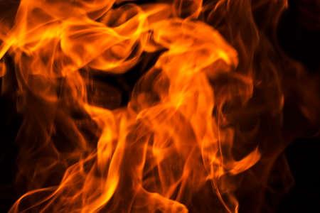 llamas de fuego: Llamas - fondo borroso