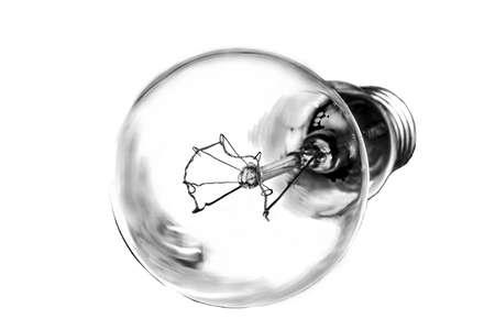 energy picture: light bulb Stock Photo