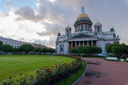 St. Isaacs Cathedral is the most famous and large church in St. Petersburg, an outstanding example of Russian religious architecture.