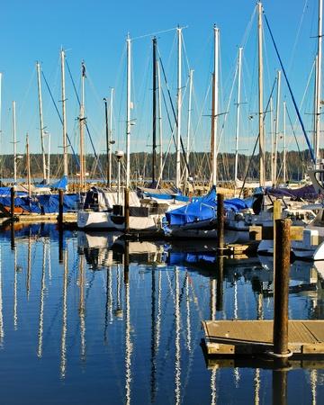 John Wayne Marina in Sequim, Washington